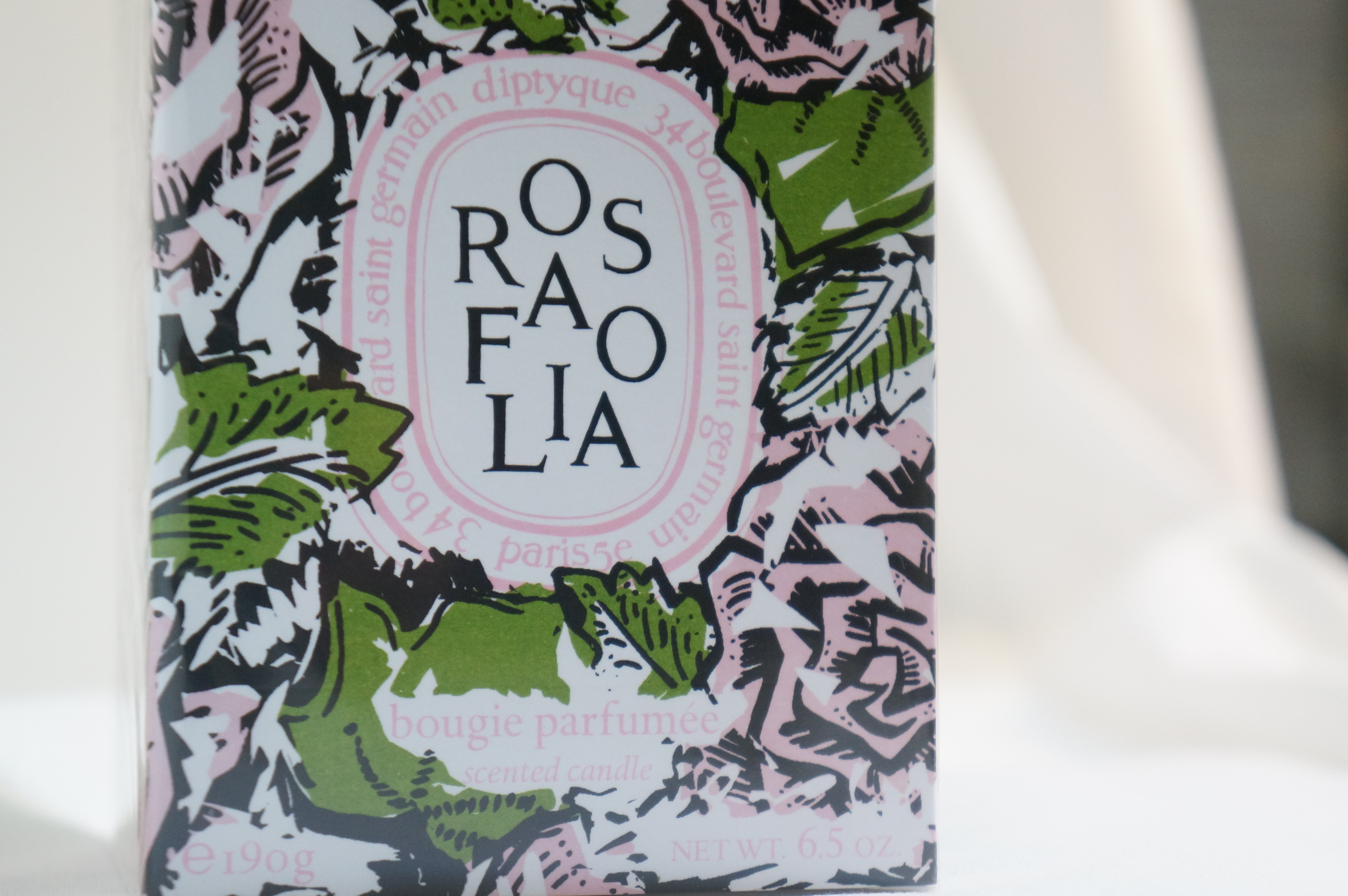 Diptyque Candle Review – Rosafolia