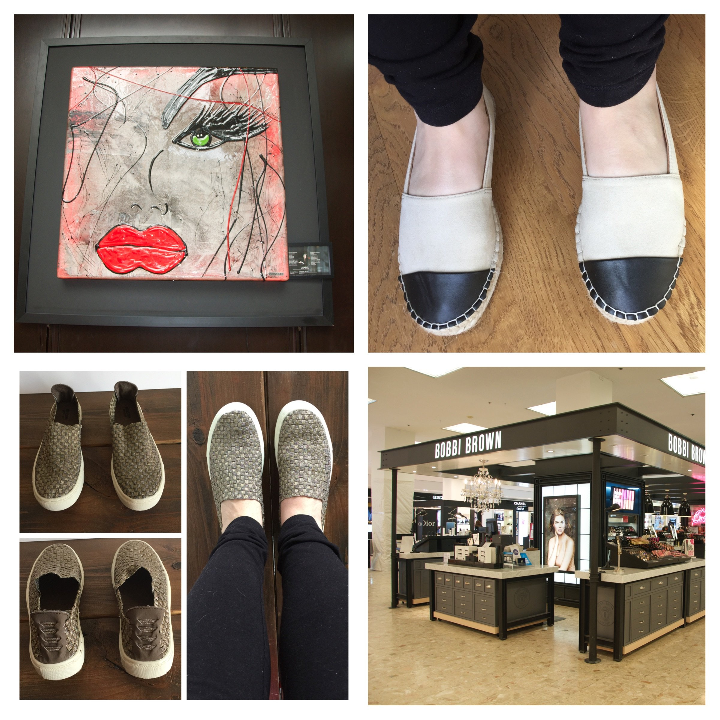 Shoes, Art, and Makeup