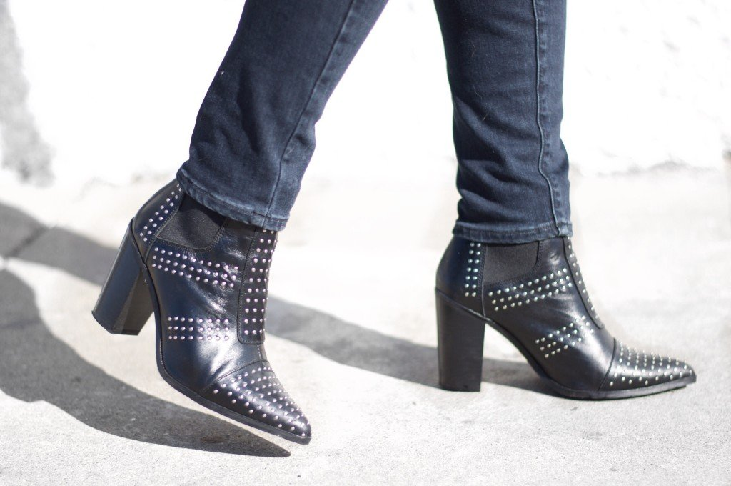 Topshop Studded Boots