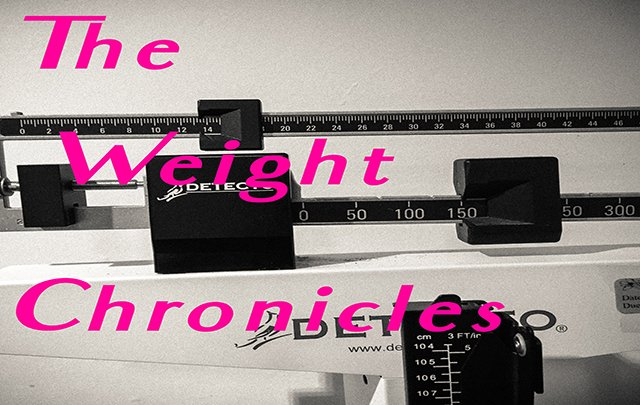 The Weight Chronicles: Eating Out