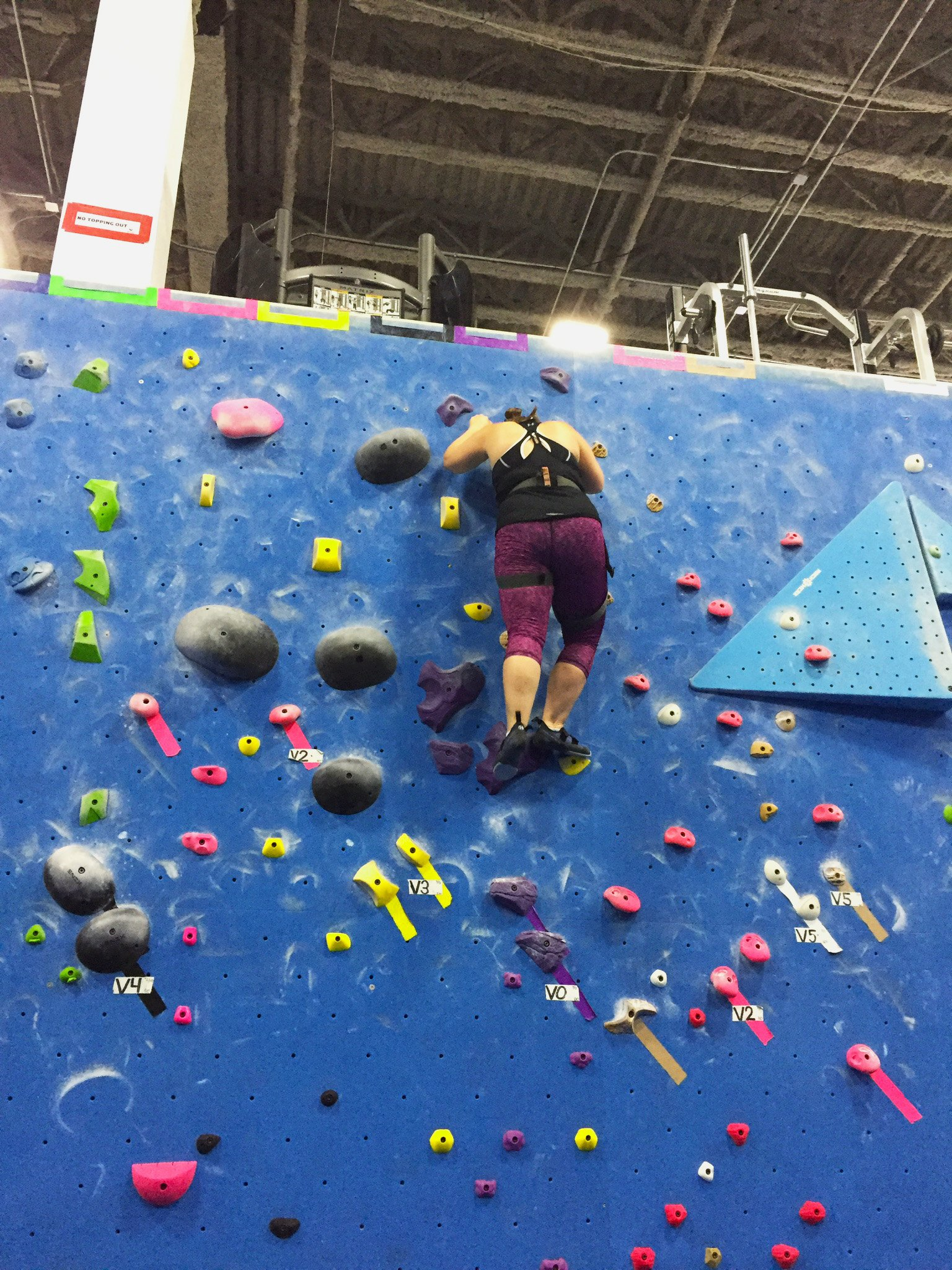 It's Hard to Let Go – Rock Climbing Can Help!