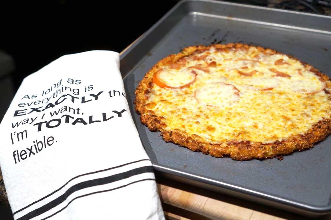 Cauliflower Pizza – FAIL!!!