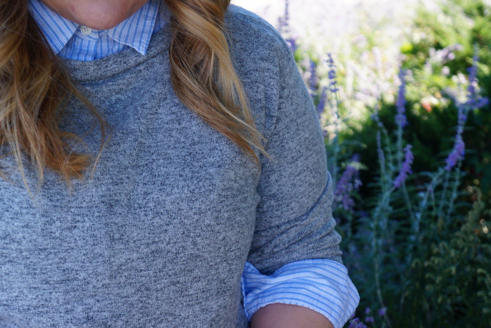 Nordstrom-sweater-and-striped-shirt