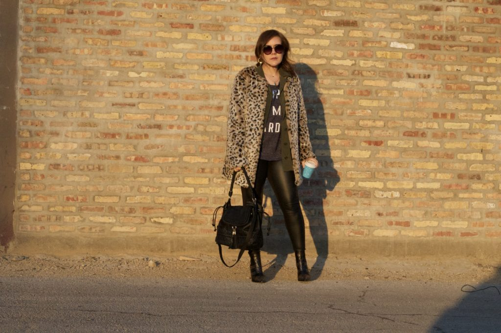 The Luxe Life - Leopard Print Coat