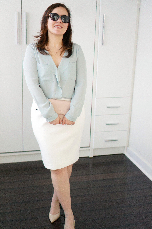 White House Black Market---White-Skirt