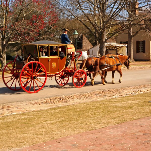 Family Reunion in Colonial Williamsburg, VA