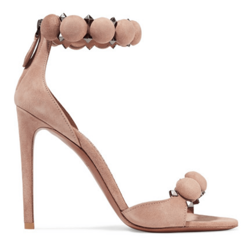 Alaia Bombe studded suede sandals