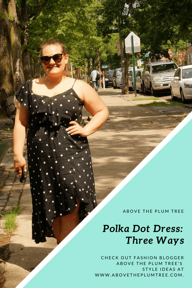 Polka Dot Dress Three Ways
