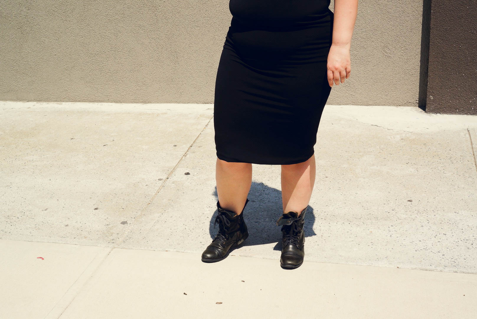 MS of Steve Madden Combat Boots