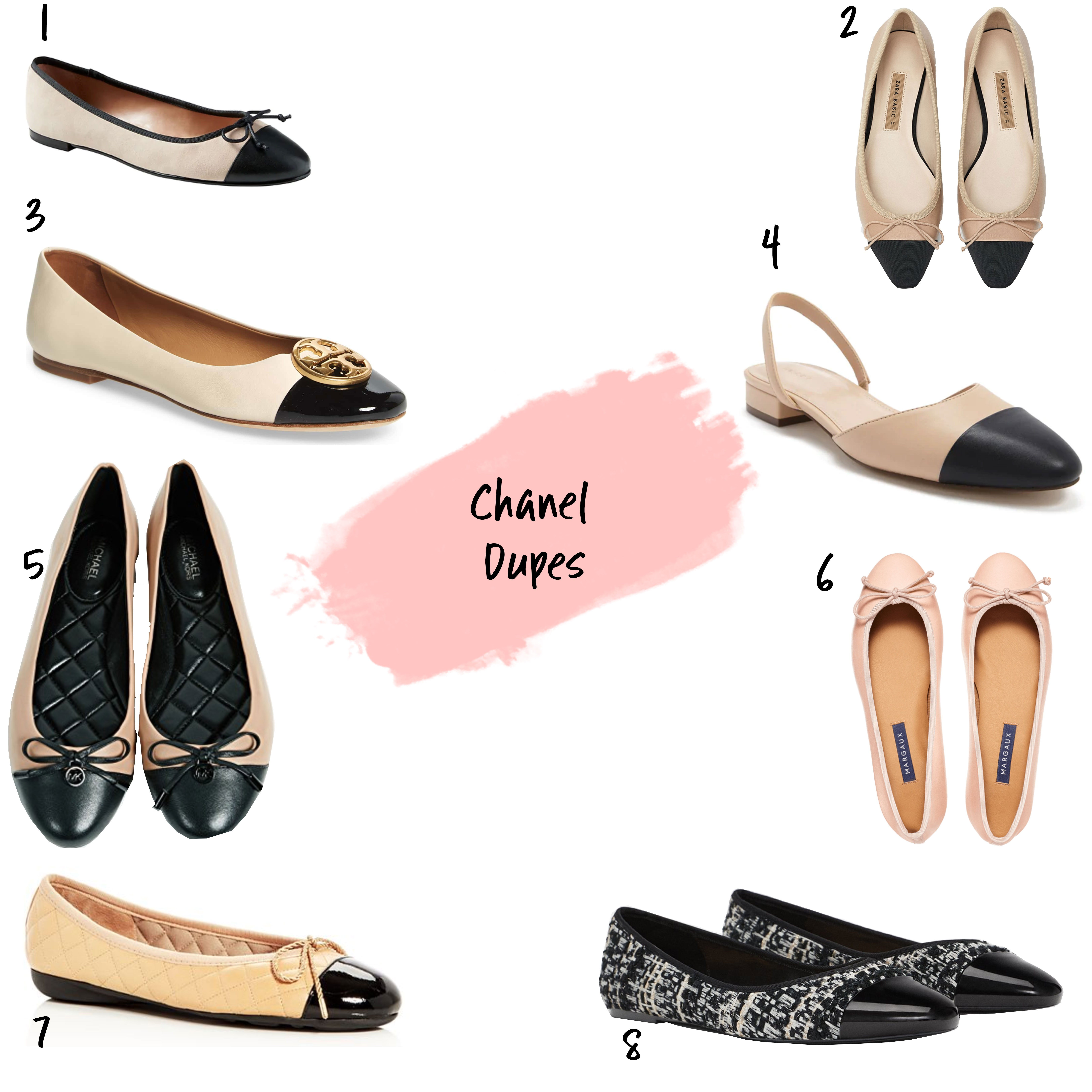 Chanel-Ballet-Flat-Dupes