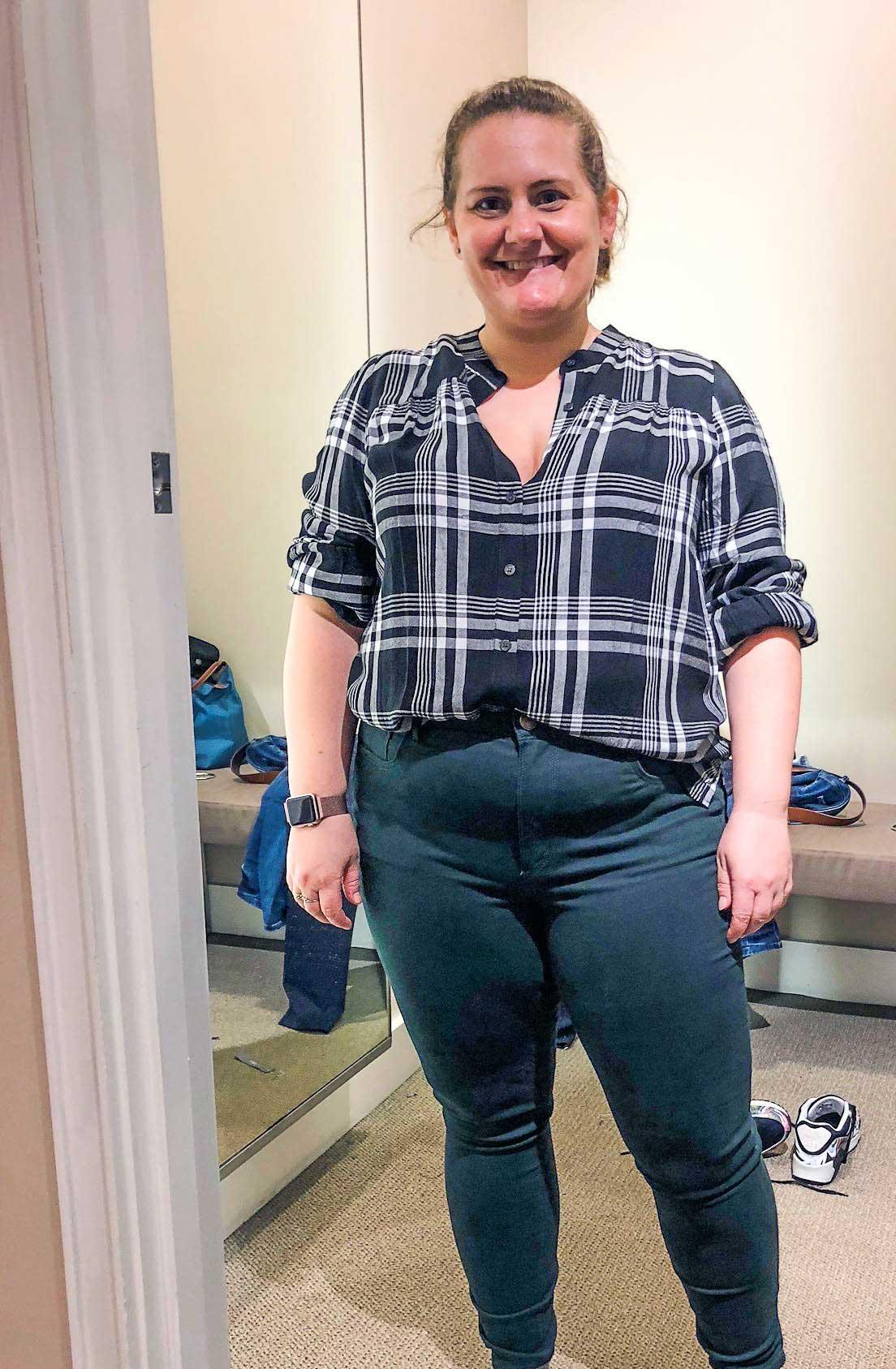 Fall---shirt-and-leggings