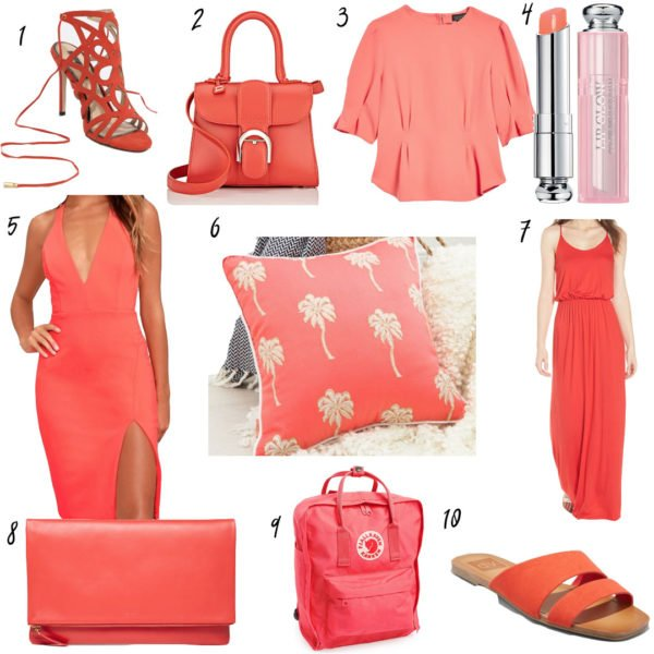 Coral Picks to Celebrate Pantone's Color of the Year