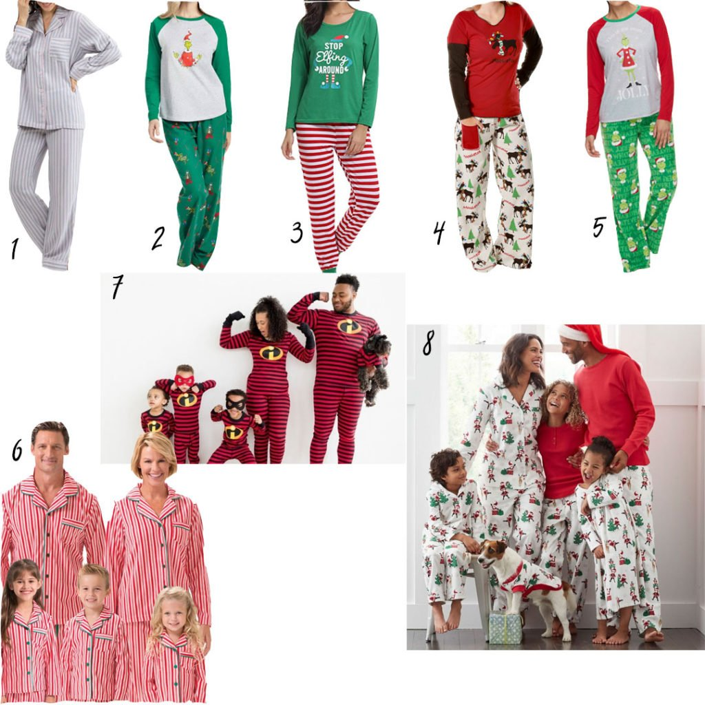 Pajamas for the holidays