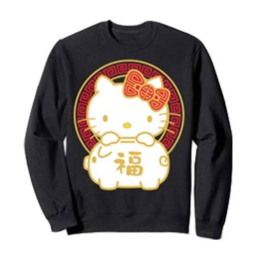 Pig-Hello-Kitty-Sweatshirt