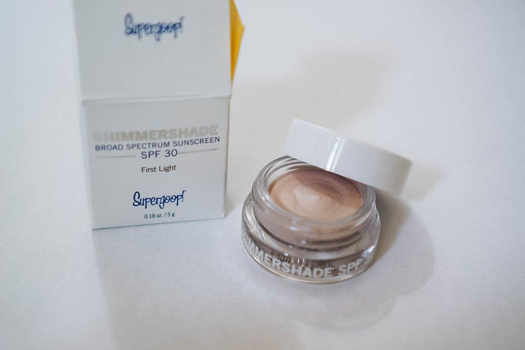 Supergoop Cream Eyeshadow