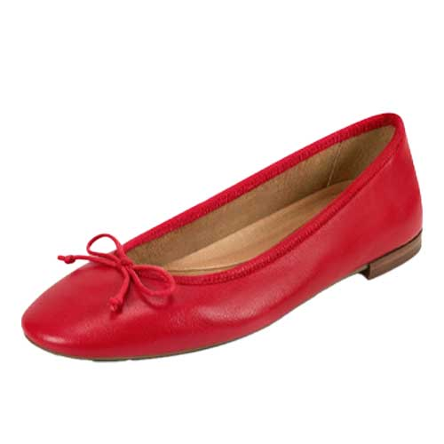 Shoes - red flats