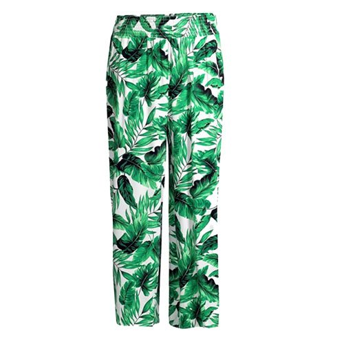 summer comfies - printed crop pants